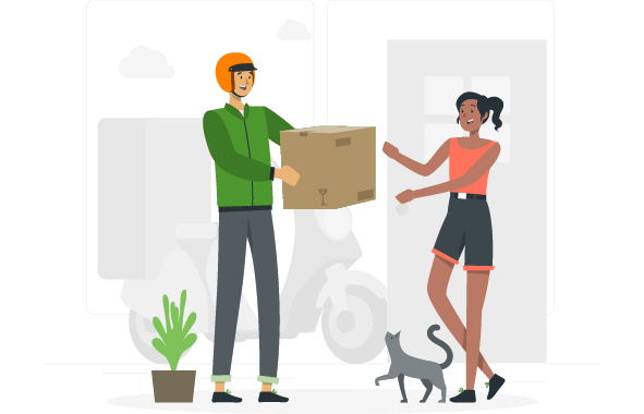 Servicio de entregas para empresas de consumo masivo