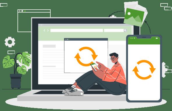 Servicio de entrega para tiendas online