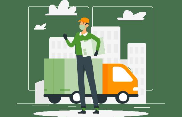 Servicio de entrega para empresas de MEDICINAS